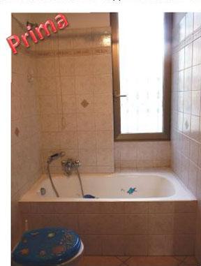 Trasformazione della vasca in doccia novabad azienda specializzata in lavorazioni mini - Finestra nella doccia ...